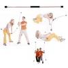 Palica za vadbo fleksibilna iz steklenih vlaken dolžine 115cm