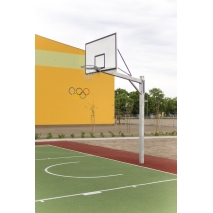Konstrukcija za košarko 180x105cm