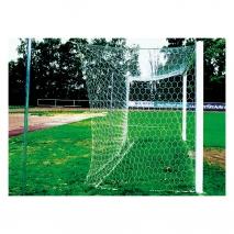 Mreža za nogometni gol Senior 7,44x2,44 globina 2x2m