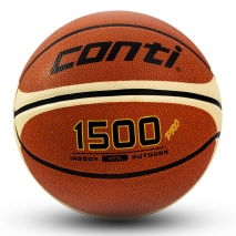 Žoga za košarko Conti, dvobarvna, guma